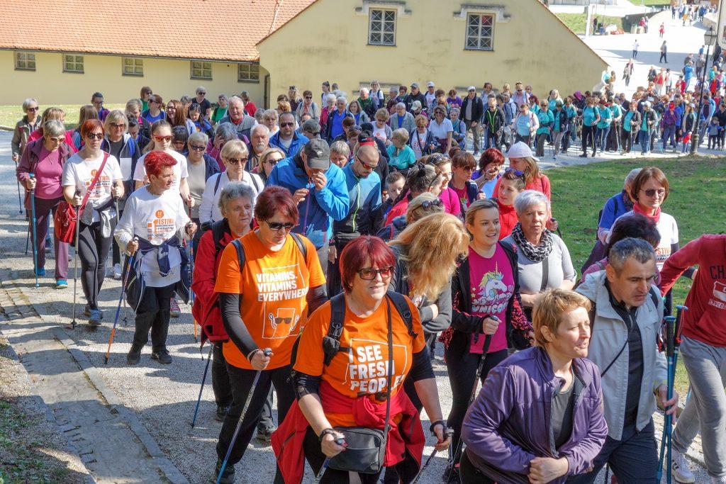 Festival nordijskog hodanja 2020 Varaždin Trakoščan