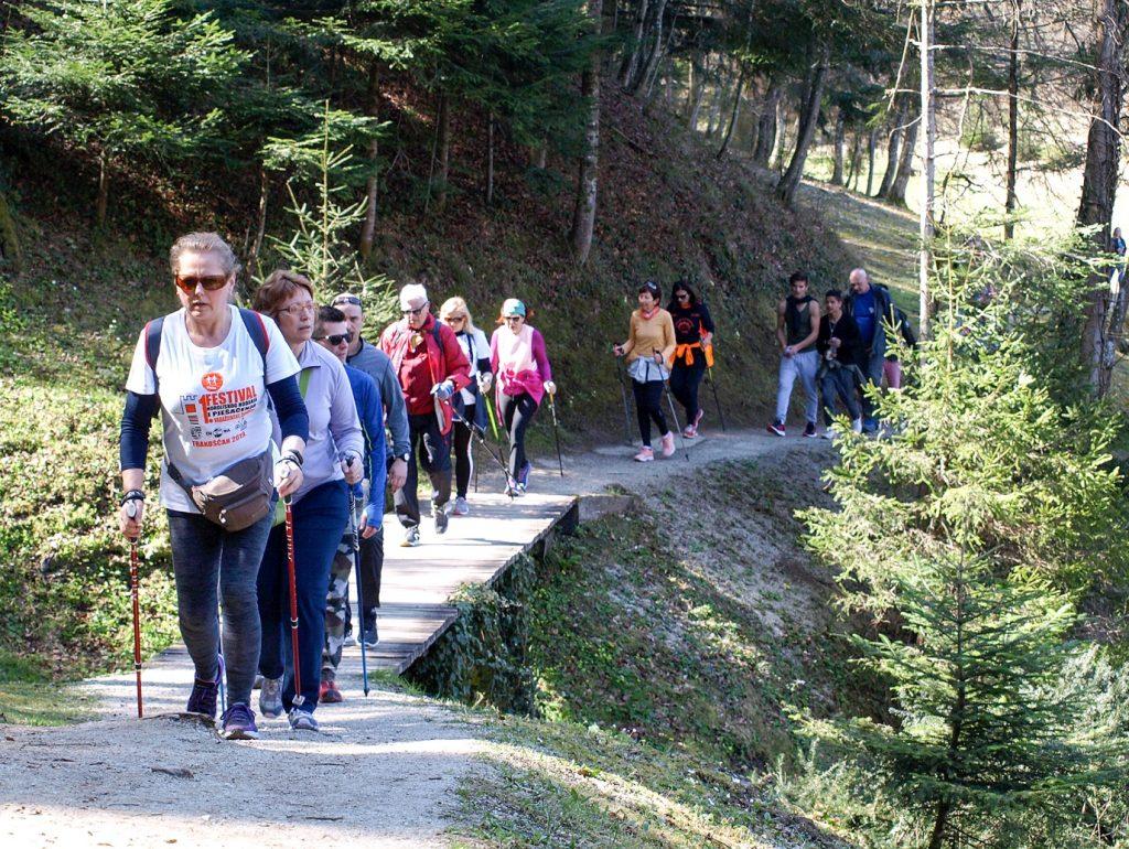 Festival nordijskog hodanja i pješačenja Varaždinske županije - Trakošćan 2021